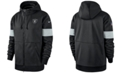 Nike Men's Oakland Raiders Sideline Full-Zip Therma Hoodie