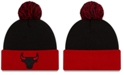 New Era Chicago Bulls Black Pop Knit Hat