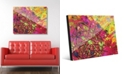 """Creative Gallery Espansione in Pink Abstract 20"""" x 24"""" Acrylic Wall Art Print"""