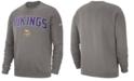 Nike Men's Minnesota Vikings Fleece Club Crew Sweatshirt