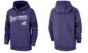 Nike Men's Texas Christian Horned Frogs Therma Sideline Hooded Sweatshirt