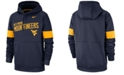 Nike Men's West Virginia Mountaineers Therma Sideline Hooded Sweatshirt