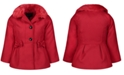 Jessica Simpson Toddler & Little Girls Faux-Fur-Collar Coat