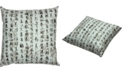 "Red Lantern Calligraphy Pillow, 14.25"" x 14.25"""