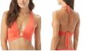 Carmen Marc Valvo O-Ring Halter Bikini Top