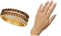 Le Vian Creme Brulee® Diamond Coil Statement Ring (1-1/6 ct. t.w.) in 14k Gold