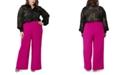 Maree Pour Toi Plus Size Wide-Leg Pants