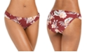 Bar III Floral Hipster Bikini Bottoms, Created for Macy's