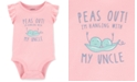 Carter's Baby Girls Peas Out Cotton Bodysuit