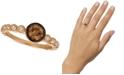 Le Vian Chocolatier® Diamond Bezel Ring (3/4 ct. t.w.) in 14k Rose Gold