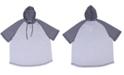 PX Short Sleeve Raglan Hooded Henley