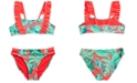 Breaking Waves Big Girls 2-Pc. Tropic Paradise Bikini