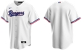 Nike Men's Texas Rangers Official Blank Replica Jersey