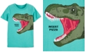 Carter's Little & Big Boys Glow-in-the-Dark Dinosaur Pizza-Print T-Shirt