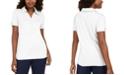 Karen Scott Cotton Eyelet-Collar Top, Created for Macy's
