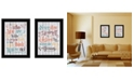 Trendy Decor 4U Trendy Decor 4u Who You Think 2-piece Vignette by Susan Ball Collection