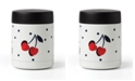 Kate Spade new york Vintage Cherry Dot Insulated Food Container