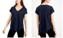 Alfani V-Neck Knit Top, Created for Macy's
