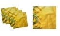 "Ambesonne Tulips Set of 4 Napkins, 12"" x 12"""