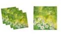 "Ambesonne Daffodil Set of 4 Napkins, 12"" x 12"""