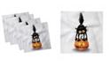 "Ambesonne Halloween Set of 4 Napkins, 12"" x 12"""