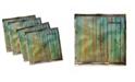 """Ambesonne Vintage-Like Set of 4 Napkins, 12"""" x 12"""""""