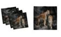 "Ambesonne Animal Set of 4 Napkins, 12"" x 12"""