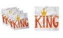 "Ambesonne King Set of 4 Napkins, 12"" x 12"""