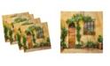"Ambesonne Italy Set of 4 Napkins, 12"" x 12"""