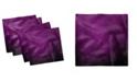 "Ambesonne Eggplant Set of 4 Napkins, 18"" x 18"""