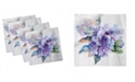 """Ambesonne Watercolor Set of 4 Napkins, 18"""" x 18"""""""