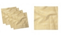 "Ambesonne Gingham Pattern Set of 4 Napkins, 18"" x 18"""