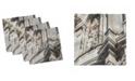 "Ambesonne Sicily Set of 4 Napkins, 18"" x 18"""