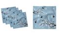 "Ambesonne Snowy Trees Set of 4 Napkins, 18"" x 18"""