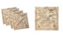 "Ambesonne Island Set of 4 Napkins, 18"" x 18"""