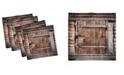 """Ambesonne Vintage-Like Set of 4 Napkins, 18"""" x 18"""""""