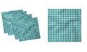 "Ambesonne Geometrical Set of 4 Napkins, 18"" x 18"""