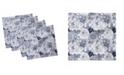 "Ambesonne Shabby Flora Set of 4 Napkins, 18"" x 18"""