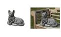 Campania International Shepherd Pup Garden Statue