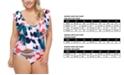 Raisins Curve Trendy Plus Size Lucky Day Wayalife One-Piece Swimsuit