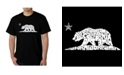 LA Pop Art Men's Word Art - California Dreamin T-Shirt