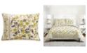 Jessica Simpson Vera Bradley Hummingbird Blooms Yellow Standard Sham