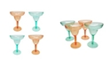Martha Stewart Collection 4-Pc. Margarita Glass Set, Created for Macy's