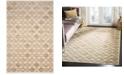 "Martha Stewart Collection MSR74301 Slate 3'3"" x 5'3"" Area Rug"