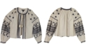 INC International Concepts INC Embroidered Bomber Jacket, Created for Macy's