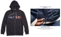 Tommy Hilfiger Men's Logo Hoodie with Magnetic Zipper