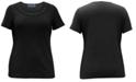 Karen Scott Plus Size Cut-Out Cotton Top, Created for Macy's