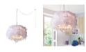 """Home Accessories Iglesias 17"""" 3-Light Indoor Pendant Lamp with Light Kit"""