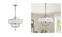 """Home Accessories Deanna 17.7"""" 3-Light Indoor Pendant Lamp with Light Kit"""