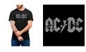 LA Pop Art Men's AC/DC Word Art T-shirt